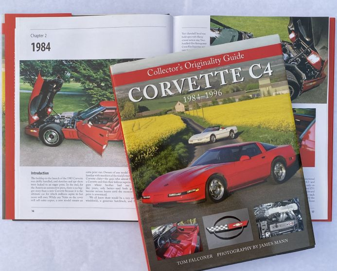 Collectors Originality Guide Corvette  C4 1984 - 1996 by Tom Falconer